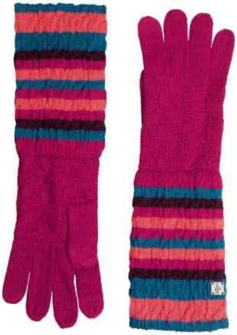 SmartWool Striped Chevron Gloves - Merino Wool (For Men and Women)