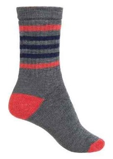 SmartWool Striped Hike Light Socks - Merino Wool, Crew (For Women)