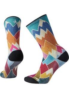 Smartwool Women's Hike Light Mountain Print Crew Sock