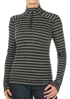 Smartwool Women's Merino 250 Baselayer Pattern 1/4 Zip Top