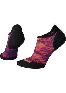 Smartwool Women's PhD Run Light Elite Chevron Printed Micro Sock