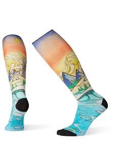 Smartwool Women's PhD Ski Light Elite Afterglow Printed Sock
