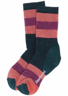 Smartwool Striped Hike Medium Crew (Toddler/Little Kid/Big Kid)