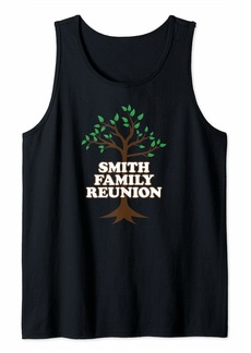 Family Tree Smith Family Reunion Tank Top