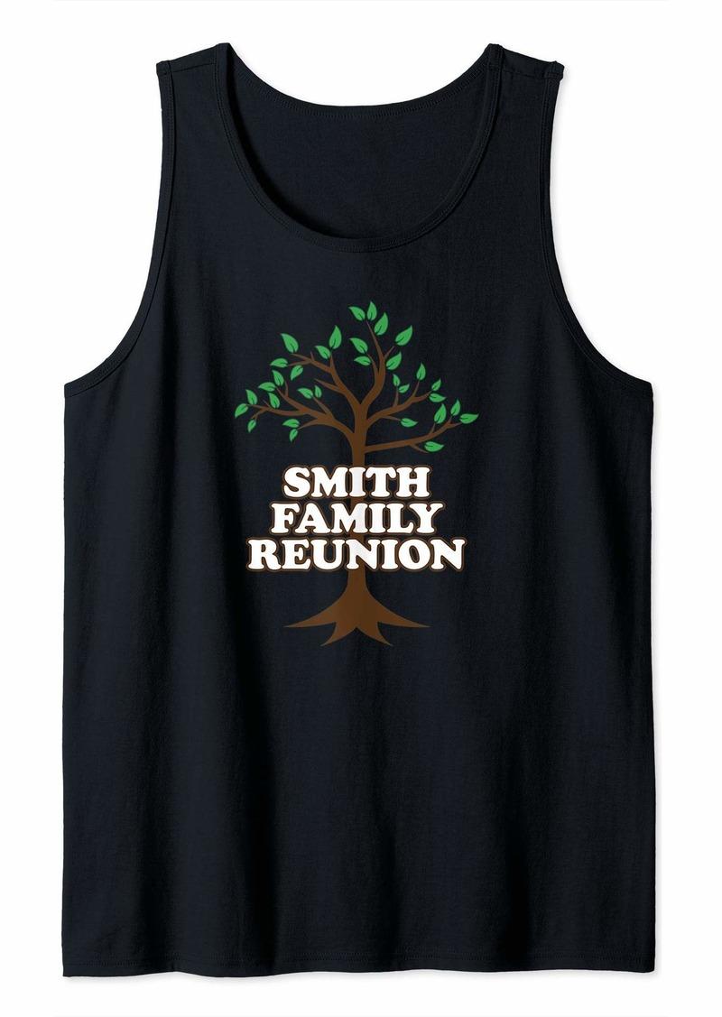 Family Tree Smith Family Reunion Tank Top