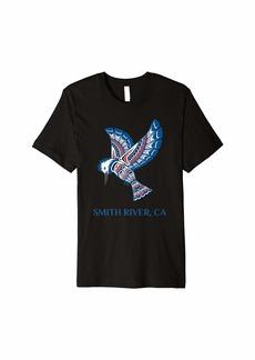 Native American Smith River Kingfisher Bird California Premium T-Shirt