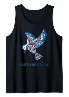 Native American Smith River Kingfisher Bird California Tank Top