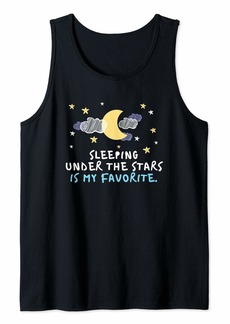 Smith Outdoor Camp Design Sleeping Under the Stars is my Favorite Tank Top
