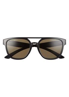 Smith Agency 54mm ChromaPop™ Polarized Flat Top Sunglasses