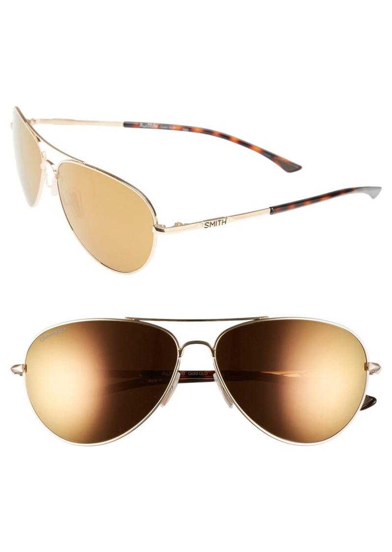 89f6e0b35a08b Smith Smith  Audible - ChromaPop  60mm Polarized Aviator Sunglasses ...