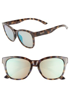 Smith Caper 53mm ChromaPop™ Square Sunglasses