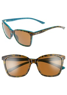 Smith 'Colette' 55mm ChromaPop™ Polarized Sunglasses