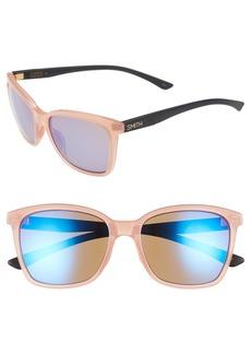 Smith Colette 55mm Matte Mirrored Lens Sunglasses