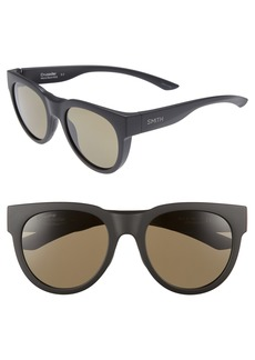 Smith Crusader 53mm ChromaPop™ Round Sunglasses