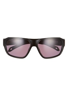 Smith Deckboss 63mm ChromaPop™ Polarized Oversize Rectangle Sunglasses