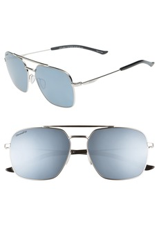 Smith Double Down 58mm ChromaPop™ Polarized Navigator Sunglasses