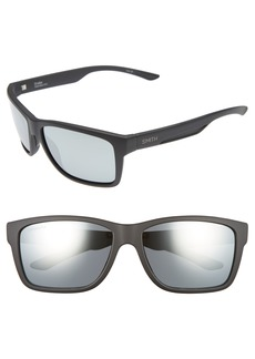 Smith 'Drake' 61mm Polarized Sunglasses