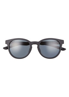 Smith Easbank Core 52mm Polarized Round Sunglasses