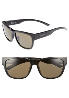 Smith Ember 56mm ChromaPop™ Square Sunglasses