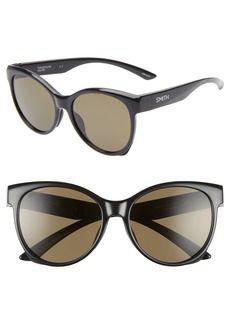 Smith Fairground 55mm ChromaPop™ Polarized Cat Eye Sunglasses