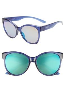 Smith Fairground 55mm ChromaPop™ Cat Eye Sunglasses