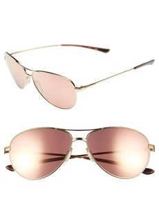 Smith 'Langley' 60mm Aviator Sunglasses