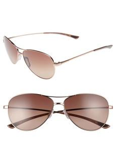 Smith Langley 60mm ChromaPop™ Aviator Sunglasses