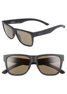 Smith Lowdown 2 55mm ChromaPop™ Square Sunglasses