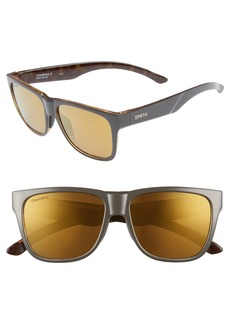 Smith Lowdown 2 55mm ChromaPop™ Square Sunglasses