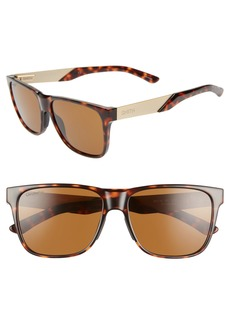 Smith Lowdown Steel 56mm ChromaPop™ Polarized Sunglasses