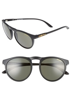 Smith Marvine 52mm Polarized Round Sunglasses