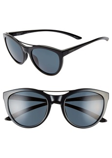 Smith Midtown 53mm ChromoPop™ Polarized Cat Eye Sunglasses