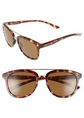 Smith 'Clayton' 54mm Polarized Aviator Sunglasses