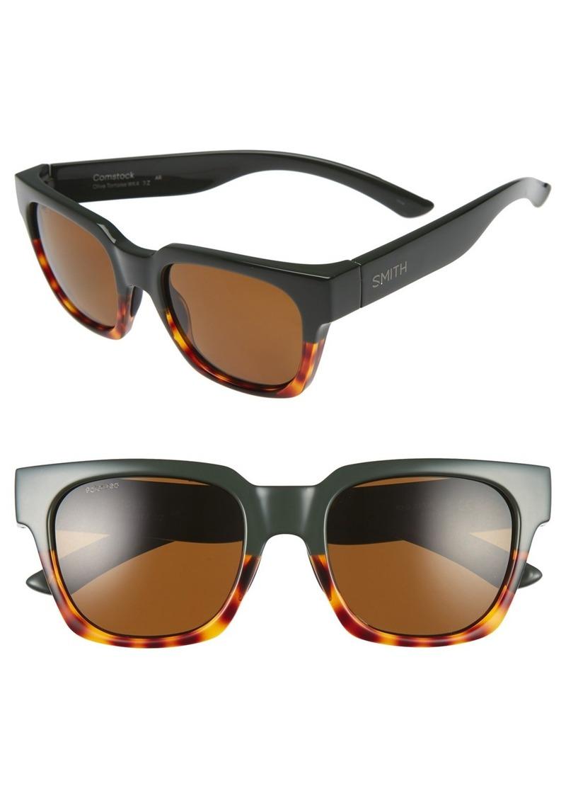 Smith Optics 'Comstock' 52mm Rectangular Sunglasses