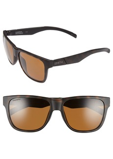 Smith 'Lowdown' 56mm Polarized Sunglasses