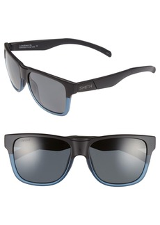 Smith 'Lowdown XL' 58mm Polarized Sunglasses