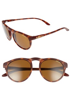 Smith Marvine 52mm Polarized Round Sunglasses