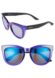 Smith Sidney 52mm Mirrored Sunglasses