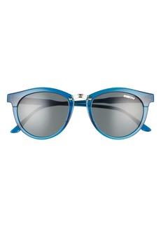 Smith Questa 50mm Polarized Round Sunglasses