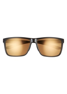 Smith Riptide 57mm Polarized Sport Square Sunglasses
