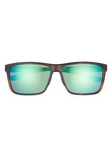 Smith Riptide 61mm Polarized Sport Square Sunglasses