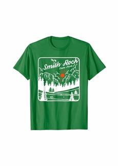 Smith Rock State Park Oregon Vintage Souvenir OR Scene T-Shirt