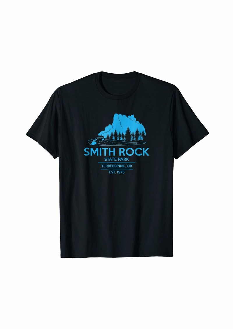 Smith Rock State Park T-Shirt - Oregon State Park