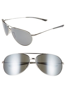 Smith 'Rockford' 65mm Polarized Aviator Sunglasses