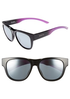 Smith Rounder 52mm ChromaPop™ Polarized Sunglasses