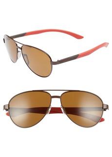 Smith Salute 59mm Polarized Aviator Sunglasses