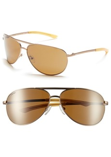 Smith Serpico 65mm Polarized Aviator Sunglasses