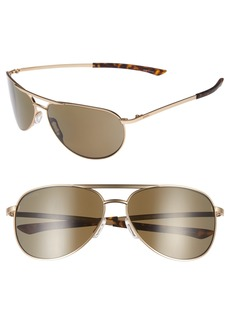 Smith Serpico Slim 2.0 60mm ChromaPop Polarized Aviator Sunglasses