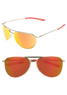 Smith Serpico Slim 2.0 60mm ChromaPop Polarized Aviator Sunglasses