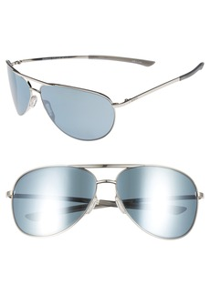 Smith Serpico Slim 2.0 65mm ChromaPop Polarized Aviator Sunglasses